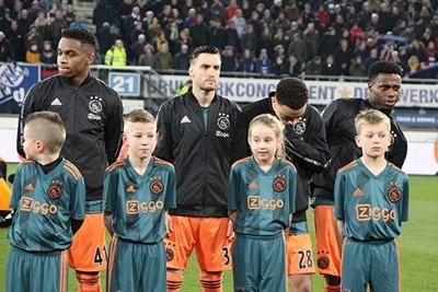 Niiiccccoooooo kijkt serieus, want er moet gewonnen worden! © Ajax Kids Club