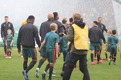Tjongejonge, wat een belevenis! © Ajax Kids Club