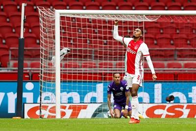 Dat is snel, dat is fijn, dat is heel fijn! Gravenberch met de 1-0! © Pro Shots