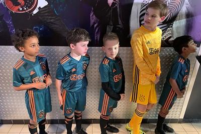 Wij scouten hier alvast de opvolger van Andre Onana. © Ajax Kids Club
