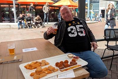 Effe lunchen, ja toch? © Björn Martens