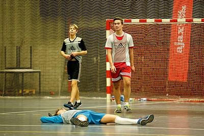 Hier is duidelijk geen finale gehaald... Ai. © De Brouwer