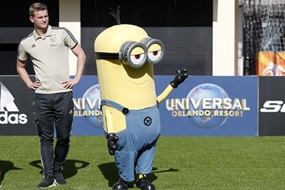 ORLANDO, 08-01-2019 , Matthijs de Ligt at the Universal Studios during the Training Camp of Ajax in Orlando