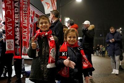 Veel Ajaciedjes gingen voor het eerst naar de Johan Cruijff Arena! © De Brouwer