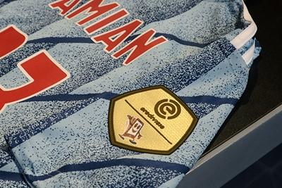 Ajax is nog altijd regerend kampioen. Dus gouden badge! © Ajax Life