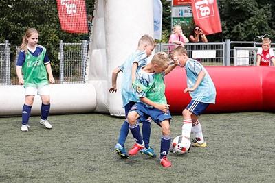 Kluitjesvoetbal is leuk voetbal. © Pro Shots