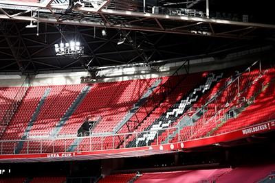 Het was echt een prima middagje om naar het stadion te gaan. © De Brouwer