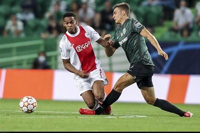 Timber laat zich ook tegen Sporting weer zien... Goed zeg! © Ajax Life