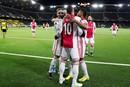 Dit keer geen speler, maar het collectief Ajax op de wallpaper!