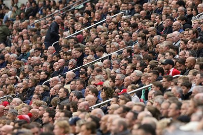 Ajax oogde tam, maar een groot deel van de Arena eveneens. © De Brouwer