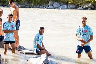 De voorbereiding maakt al duidelijk dat er weer talenten tot bloei komen. © AFC Ajax