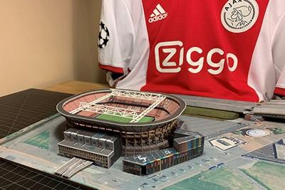 Het stadion krijgt steeds meer vorm. © David Resnik