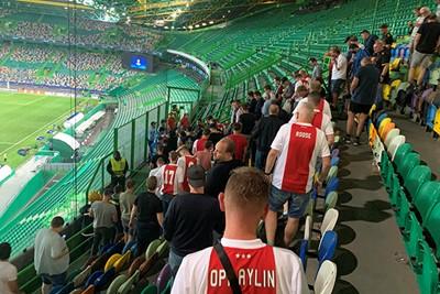 Zo, was gezellig Sporting. Tot in Amsterdam! © Ajax Life
