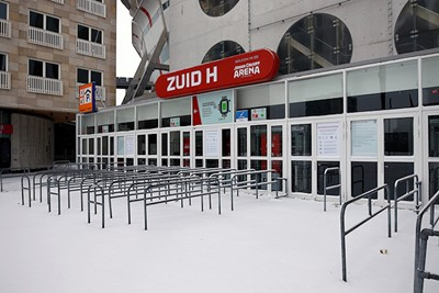 En toch hadden we hier maar wat graag gestaan, sneeuw of niet. © De Brouwer