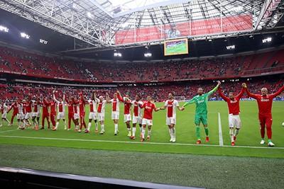 Bedankt supporters! © De Brouwer