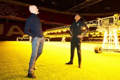 Ondertussen versterkt Ajax zich in januari voor een recordbedrag met Haller. © AFC Ajax