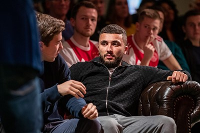 Labyad zat er lekker in en hielp zijn team aan flink wat punten. © Pro Shots
