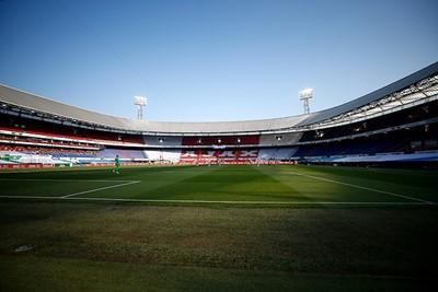Zonovergoten, prima bekerfinaleweertje. Hier horen supporters bij... © De Brouwer