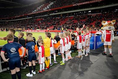 Alvast even een kijkje nemen in dat mooie stadion. © De Brouwer