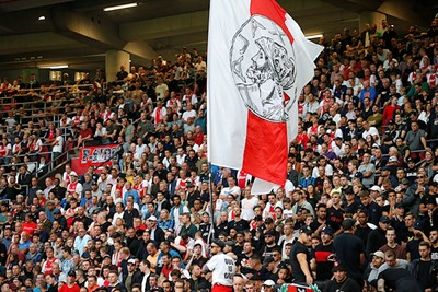 Prima vlag. Nee, zelfs een uitstekende vlag. © De Brouwer