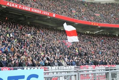 Laten we inzoomen op die volle bak op de F-side, dit hebben we gemist! © Ajax Life