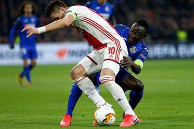 Ajax blijft op jacht naar meer, maar Getafe neutraliseert dat. © De Brouwer