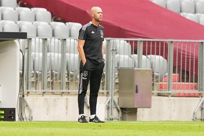 Ajax speelt met 2-2 gelijk en reist direct door naar Oostenrijk. © Pro Shots