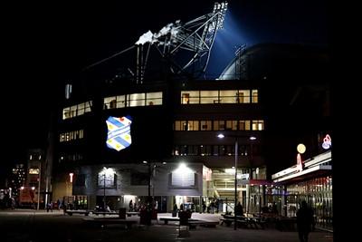 Het voelt een beetje als thuiskomen, omdat Ajax hier vaak wint. Nu ook? © De Brouwer
