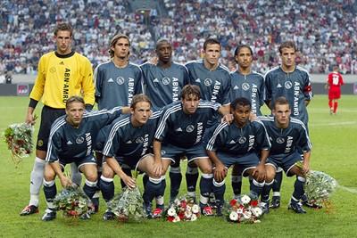 De basiself tegen het Liverpool uit 2003. © Ajax Images