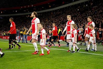 De spanning staat erop bij de spelers, dat zie je zo... © De Brouwer