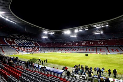 MUNCHEN, 01-10-2018, Allianz Arena, season 2018 / 2019, Champions League football. Ajax trains in Munchen in preparation of the game against Bayern. Stadium overview