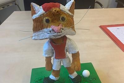 Supermooi gemaakt beeld door Jolieke Beukers (9 jaar) © Ajax Kids Club