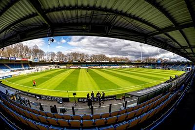 Een artistiek stadionprentje om mee te beginnen. © Pro Shots