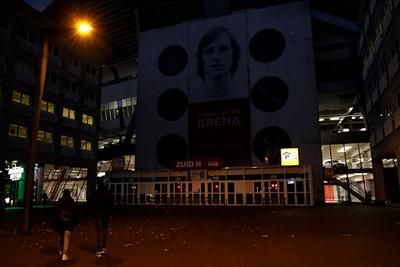 Deze plaat kun je iedere willekeurige avond schieten, maar kort voor Ajax - Liverpool? © De Brouwer