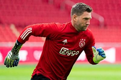Oe, bondscoach Frank de Boer op de tribune. Effe aanzetten! © Pro Shots