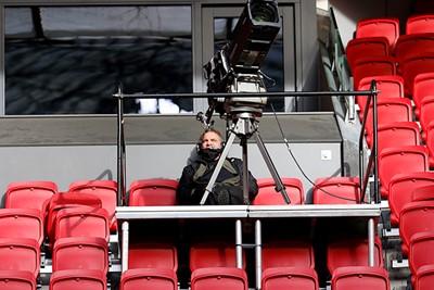 Helaas moeten we Ajax volgen via onder meer deze camera. © De Brouwer